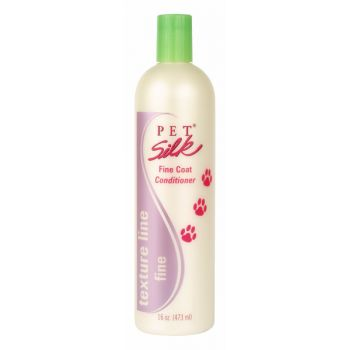 PetSilk Texture Line Fine Coat conditioner 473ml