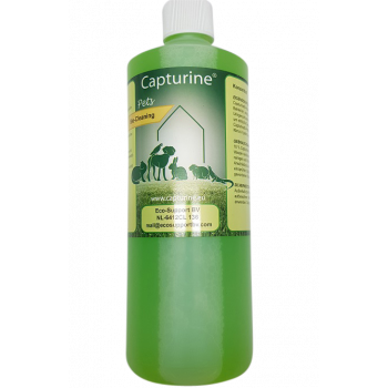 Capturine Pets Bio-Cleaning. Fles 1 liter.
