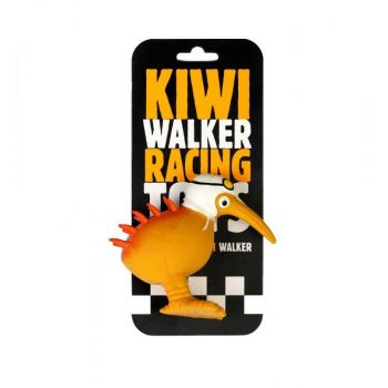 Kiwi Walker Latex Race Speeltje Witte Helm