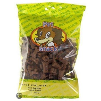 PET SNACK MINI BONES Lam. ZAK 200 GRAM