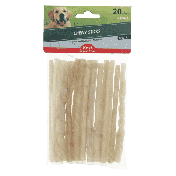 Best For Your Friend Chewy sticks small 20 stuks. Ca 30 cm