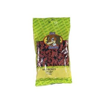 PET SNACK MINI BONES RUND. ZAK 200 GRAM