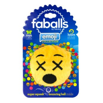 FabDog Cross Eyed Emoji Faball m