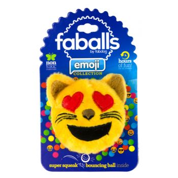 FabDog Cat Heart Eyes Faball M 10,1 cm