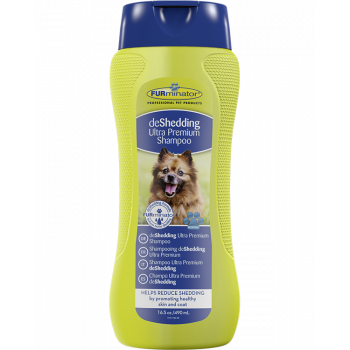 DESHEDDING ULTRA PREMIUM SHAMPOO. 490 ML