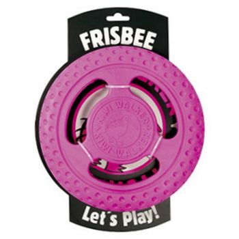 Kiwi Walker Let's Play! Frisbee roze